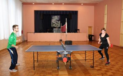 Sporta spēļu turnīra posms Gārsenes kultūras namā