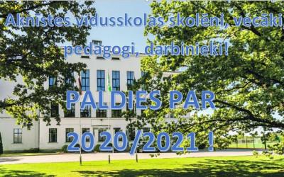 Aknīstes vidusskolā noslēdzies 2020./2021.mācību gads