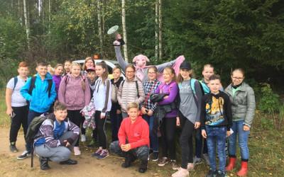 """6.klases skolēni piedalās """"Latvijas Finieris"""" pasākumā """"Zaļā klase"""""""