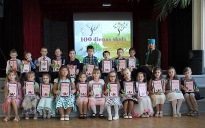 Pirmklasnieku 100 dienas Aknīstes vidusskolā