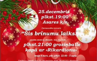 Ziemassvētku pasākums Asarē