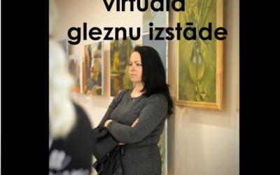 Evas Jočas virtuāla gleznu izstāde