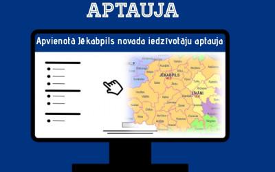 Aicinājums piedalīties  apvienotā Jēkabpils novada iedzīvotāju aptaujā