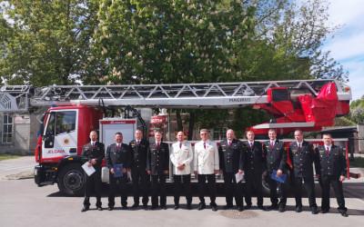 Aknīstes  ugunsdzēsēji glābēji saņem apbalvojumus