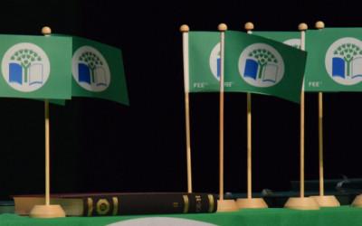 Aknīstes vidusskolai piešķirts Starptautiskais Zaļais Karogs 2020./2021. mācību gadam.