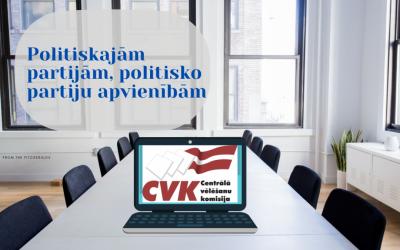Par semināru kandidātu sarakstu gatavotājiem 2021. gada pašvaldības domes vēlēšanām