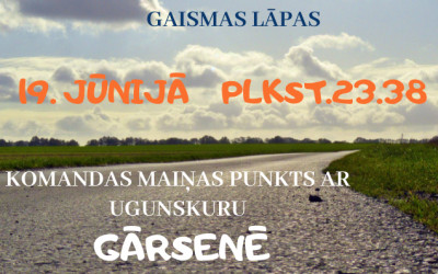 """Norisināsies skrējiens apkārt Latvijai """"Gaismas ceļš 2021″"""